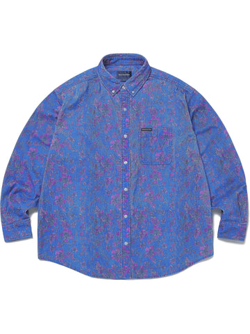 Floral Corduroy Shirt - thisisneverthat