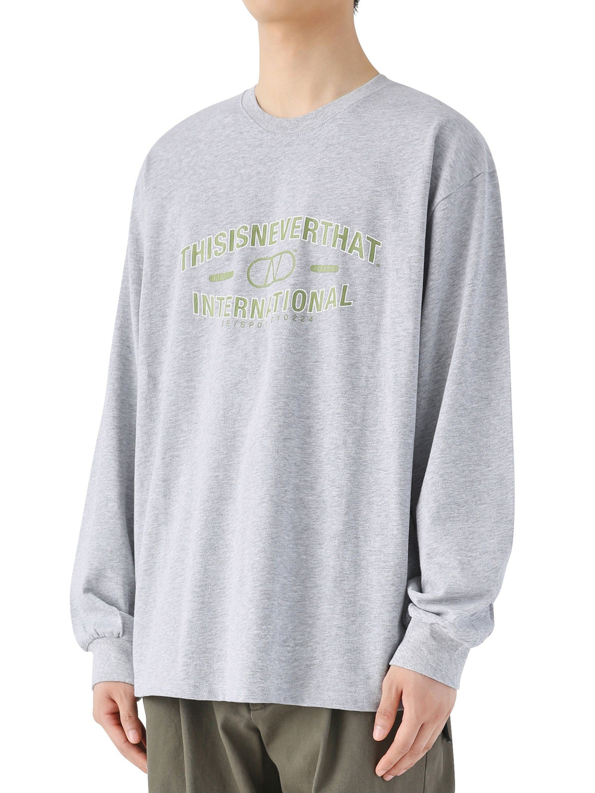 INTL. ARC Logo L/SL Top - thisisneverthat