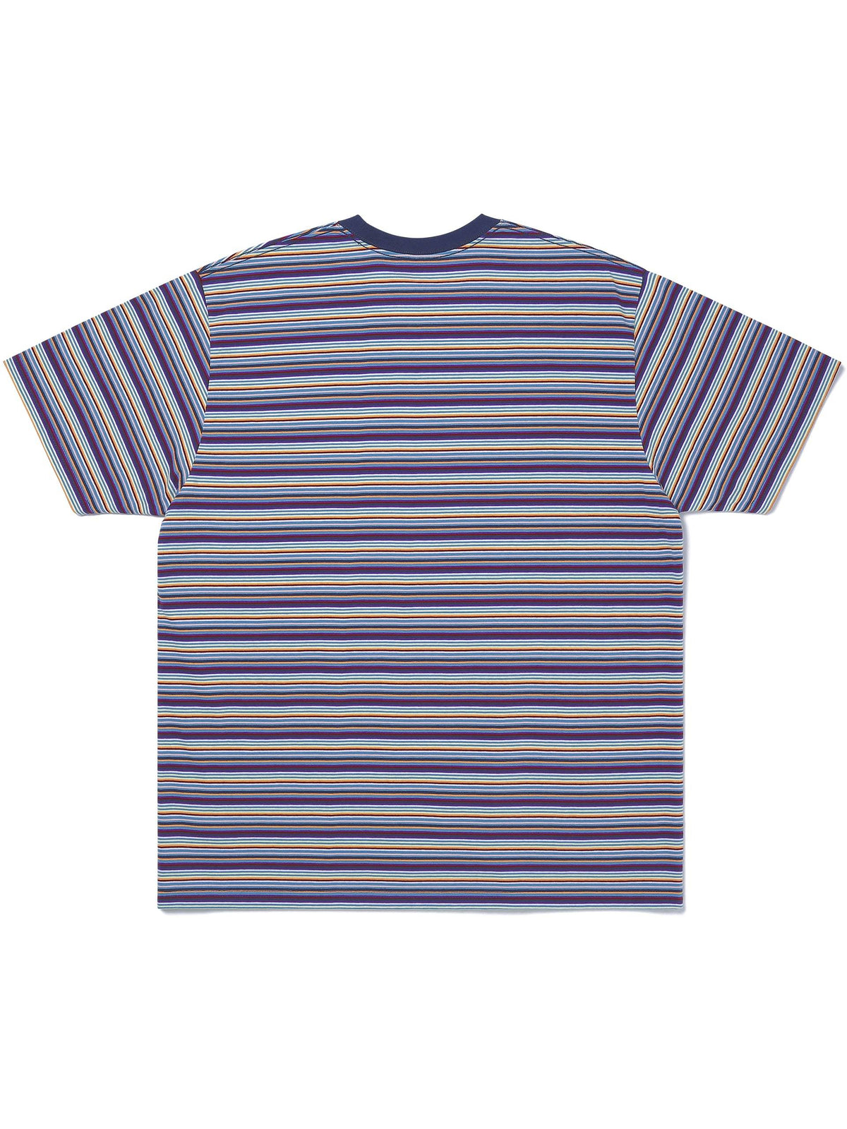 L-Logo Striped Tee T-Shirt
