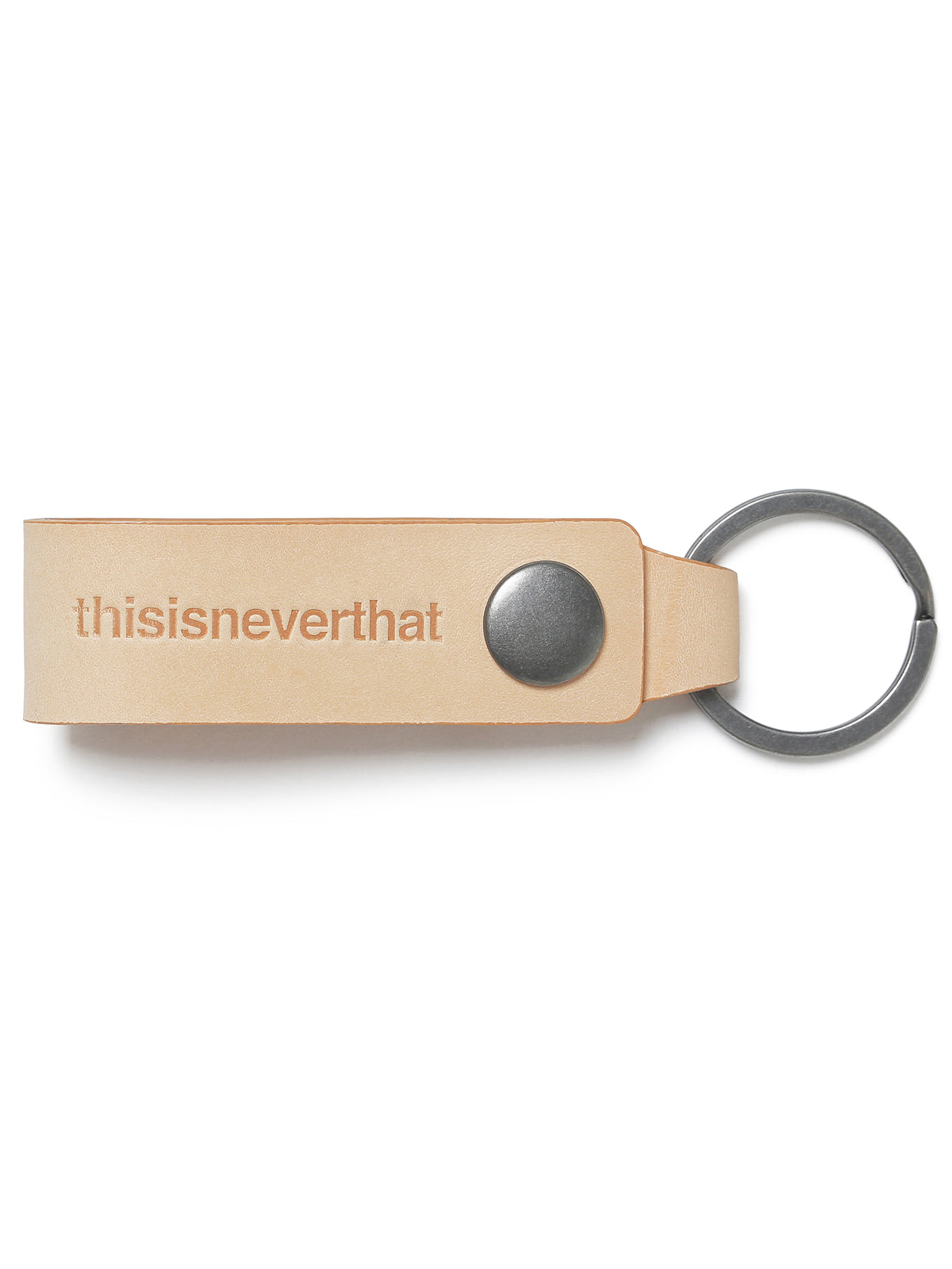 Leather Key Ring - thisisneverthat