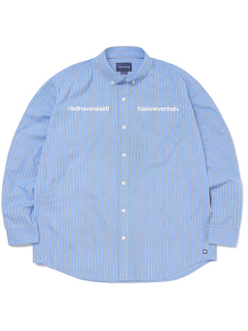 MI-Logo Striped Shirt Shirts