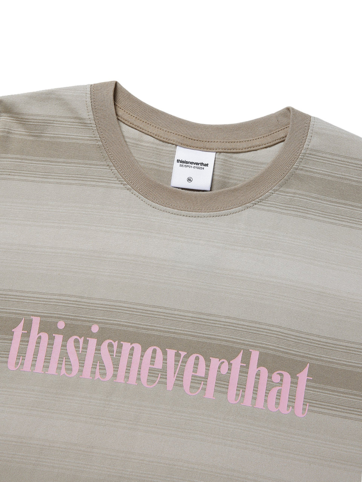 Onyx Striped L/SL Top - thisisneverthat