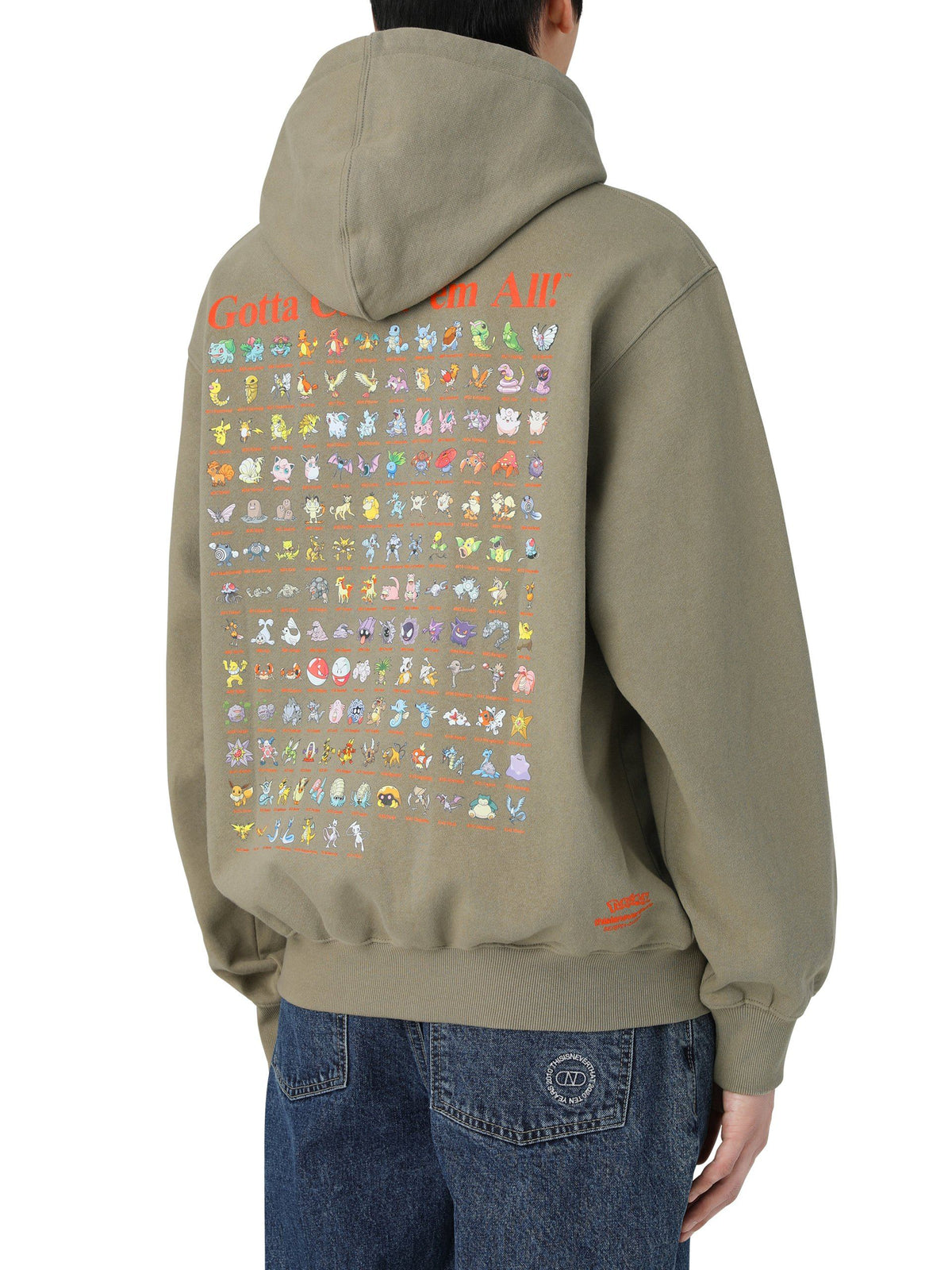 Pokemon 151 Hooded Sweatshirt - thisisneverthat