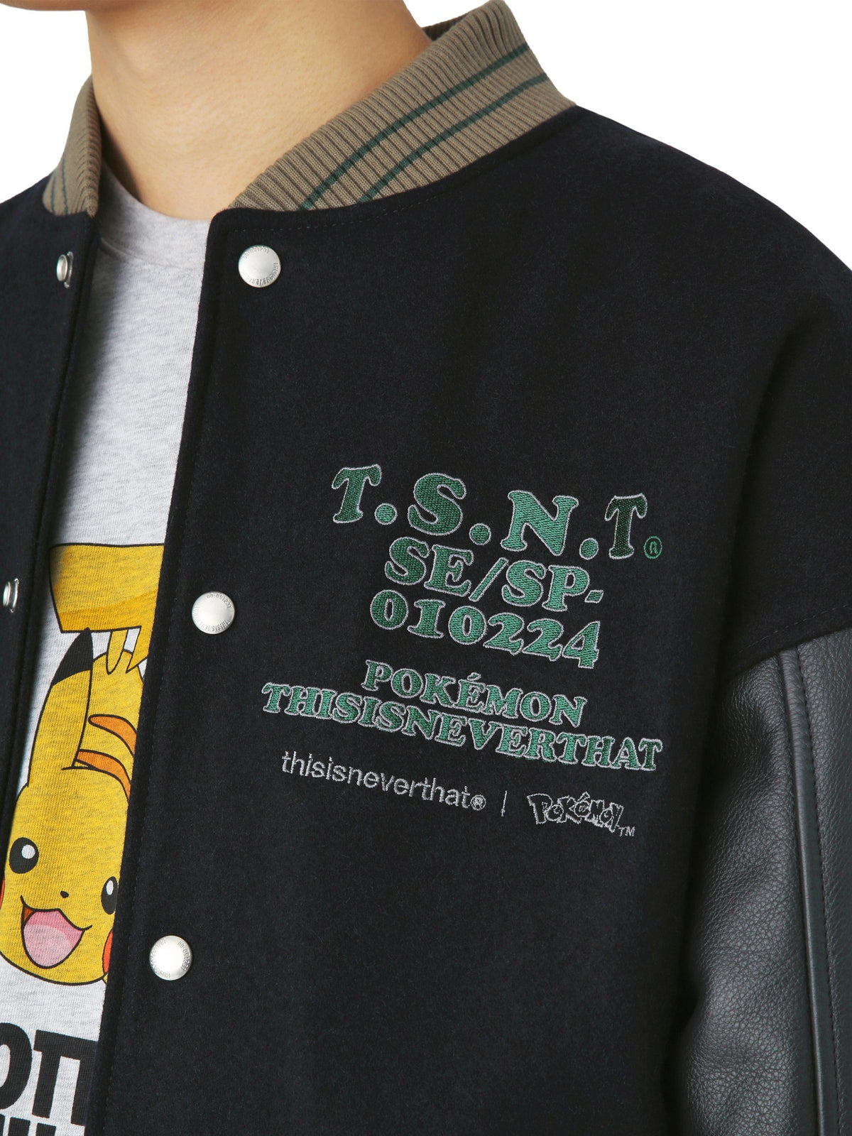 Pokemon Rizamon Varsity Jacket - thisisneverthat