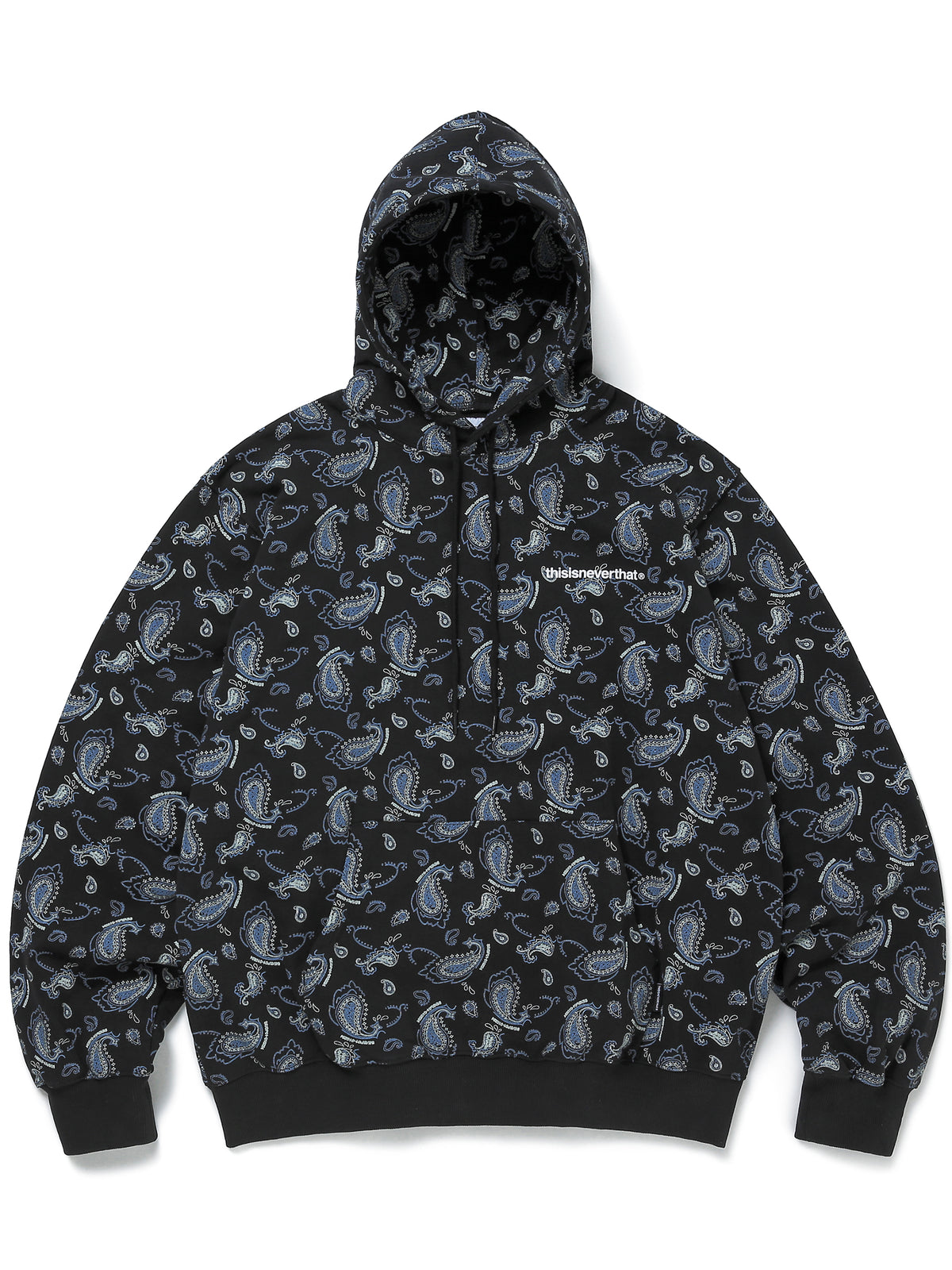 Paisley hooded Sweatshirt - thisisneverthat