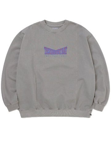 Paneled Crewneck Sweatshirts