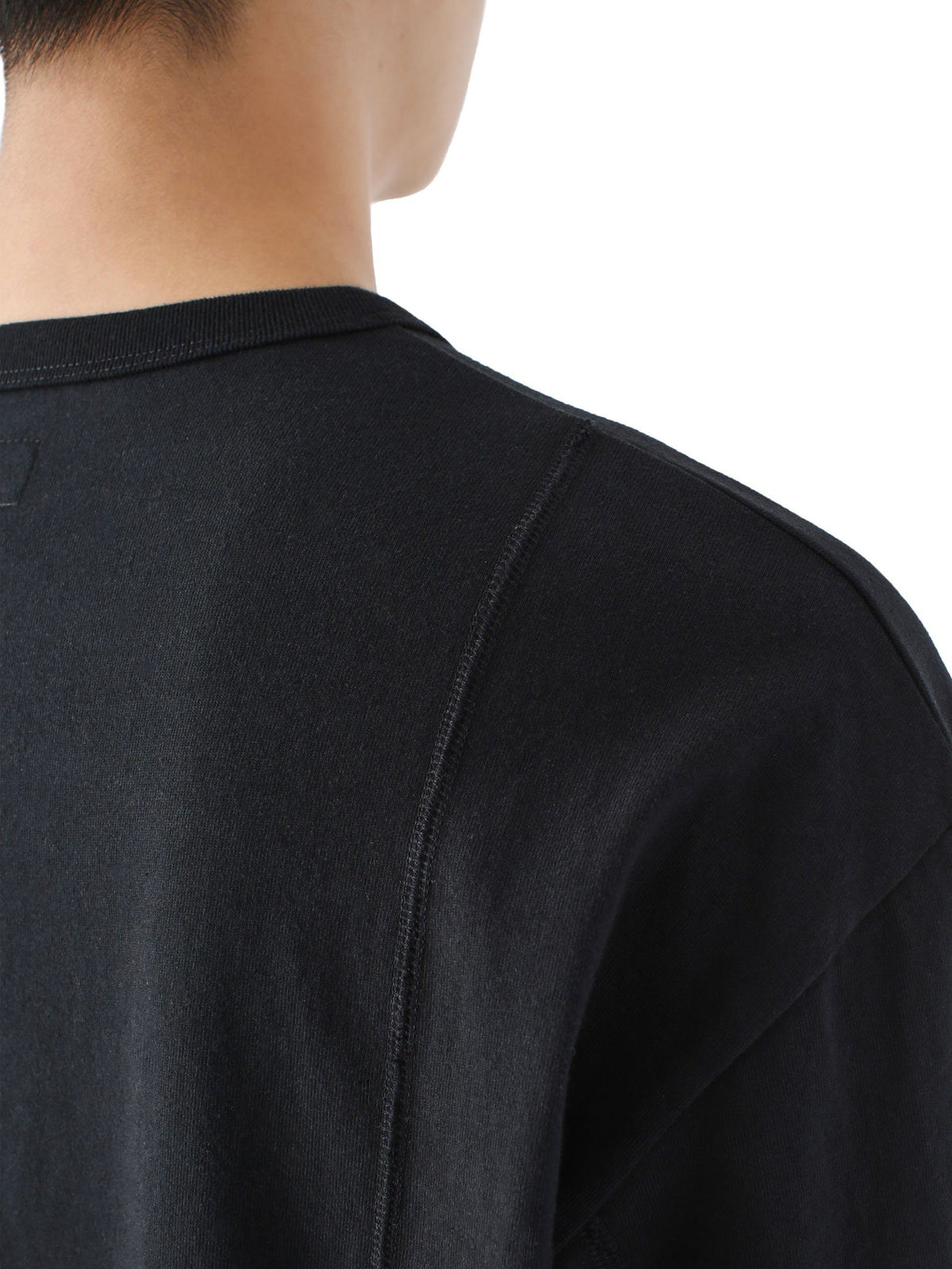 Paneled Pocket L/SL Top L/SL T-Shirt