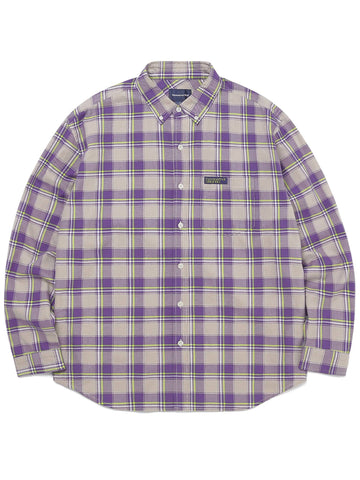 Plaid Twill Shirt Shirts