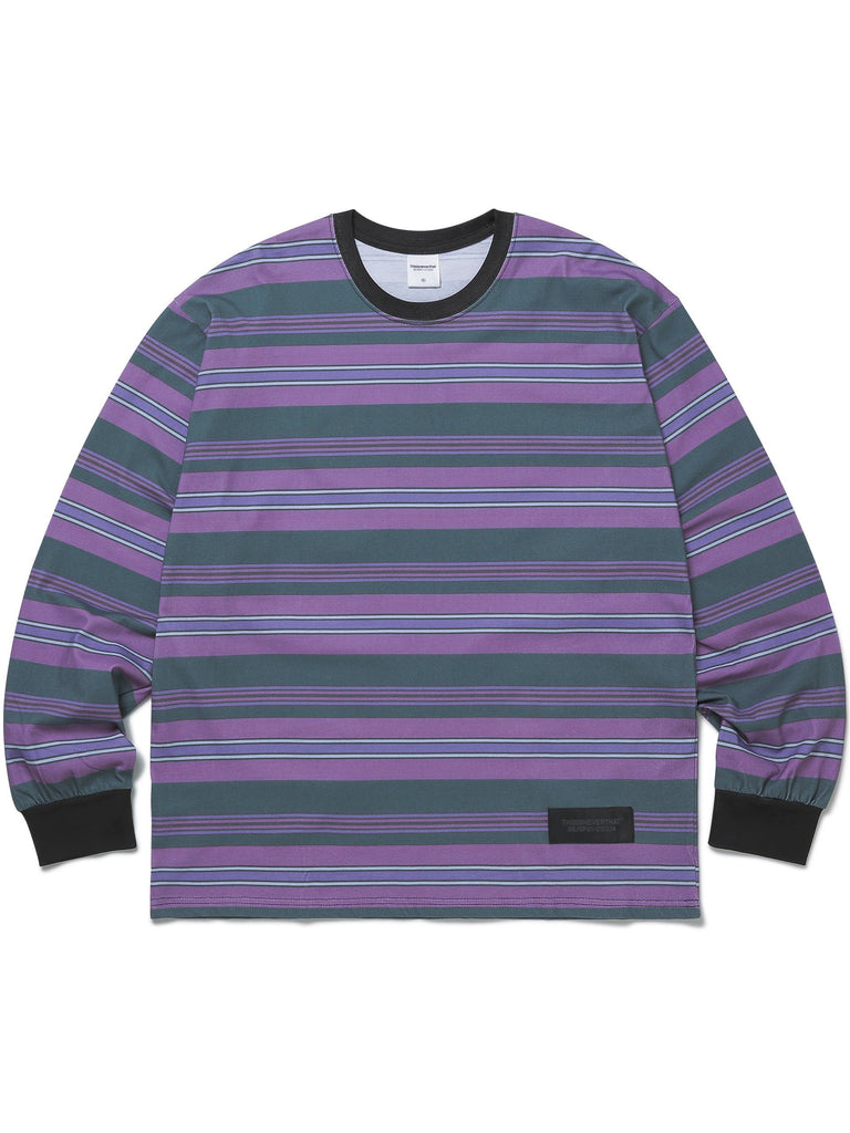 Printed Stripe L/SL Top - thisisneverthat