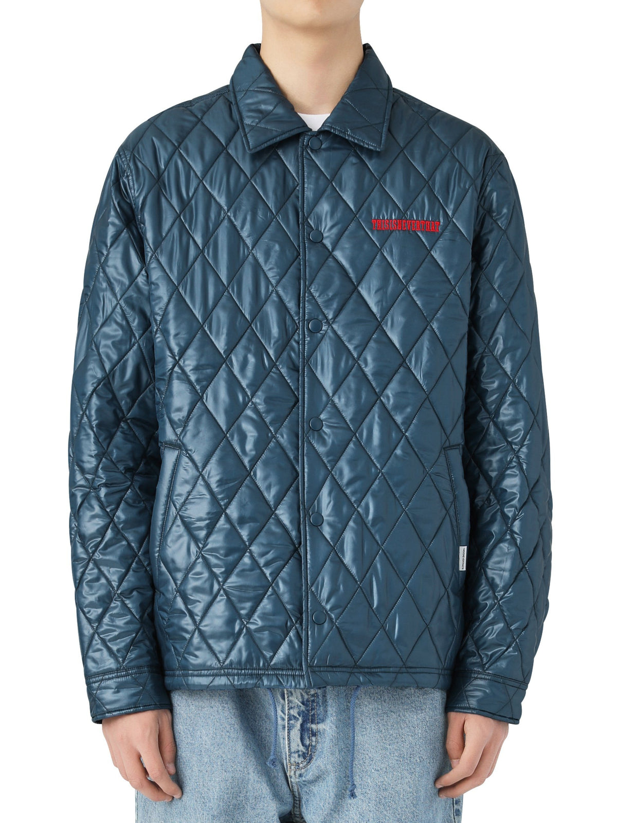 Quilted Coach Jacket - thisisneverthat