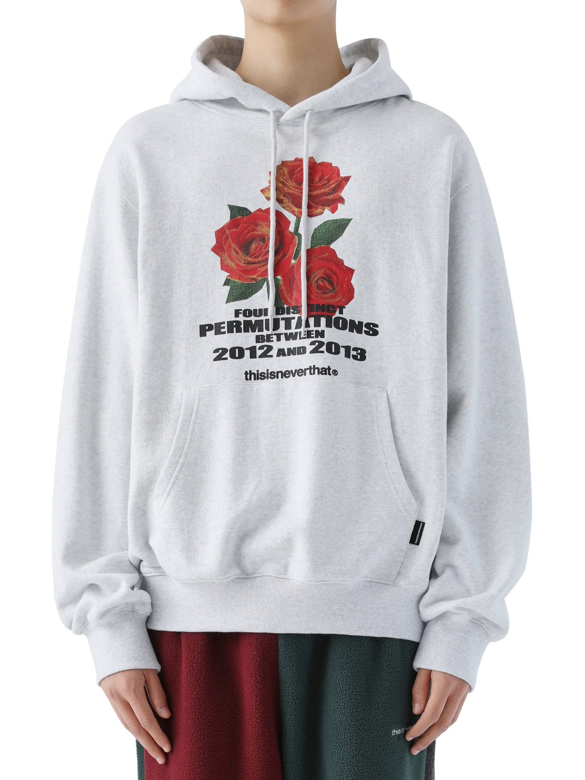 Rose Hooded Sweatshirt - thisisneverthat