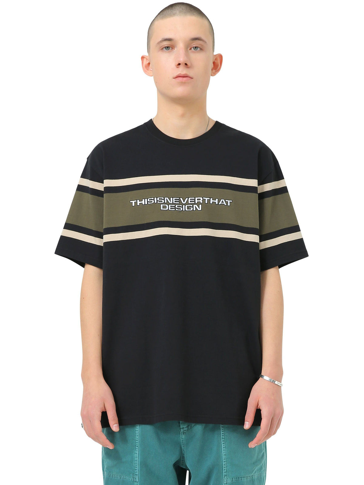 3Line Striped Tee - thisisneverthat