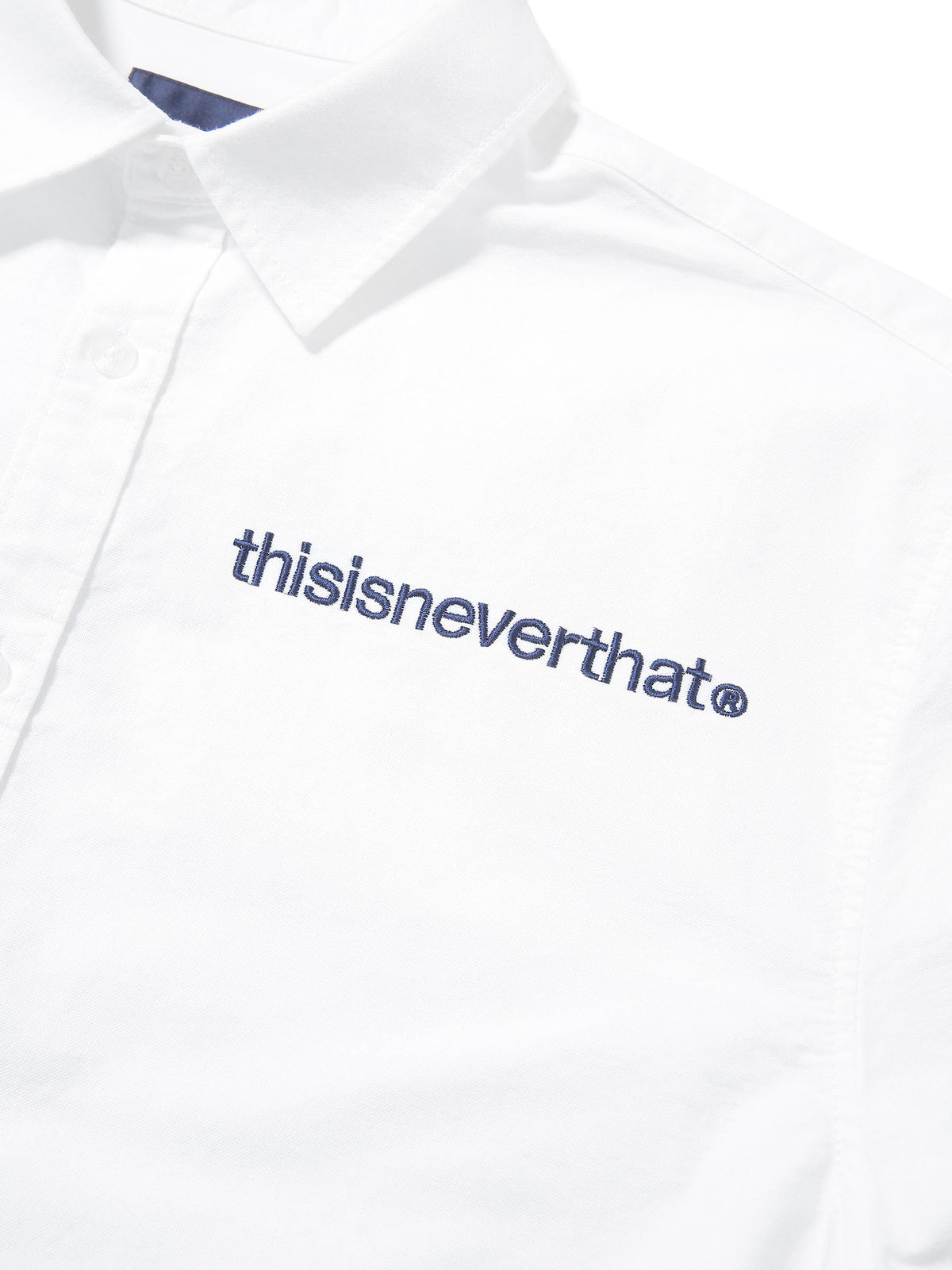 MI-Logo Oxford S/S Shirt - thisisneverthat