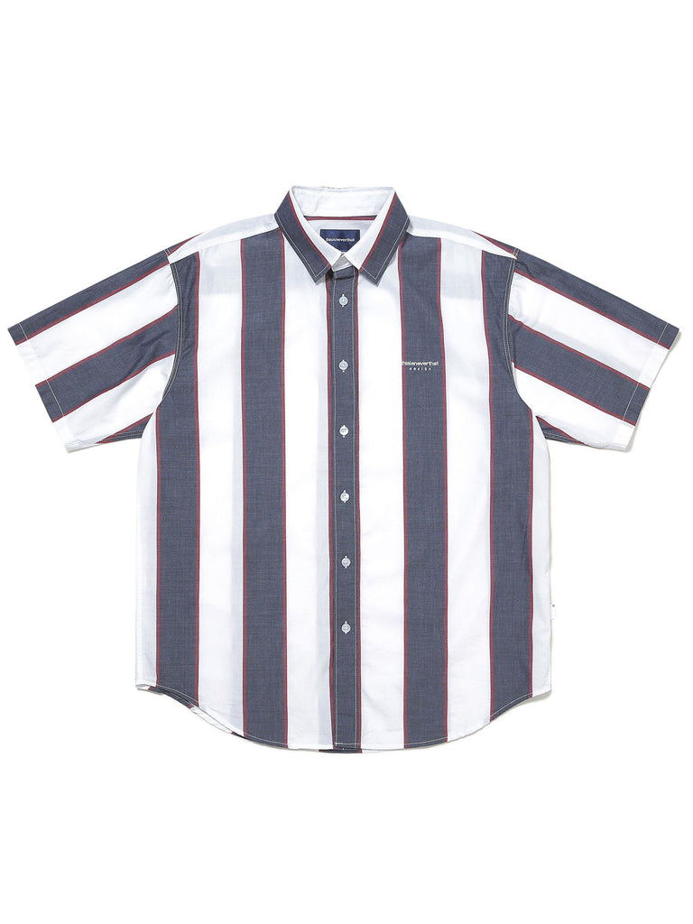 BIG Striped S/S Shirt - thisisneverthat