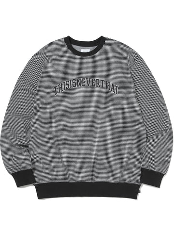 Houndstooth Crewneck - thisisneverthat