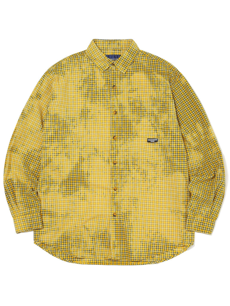 Bleach Check Shirt - thisisneverthat