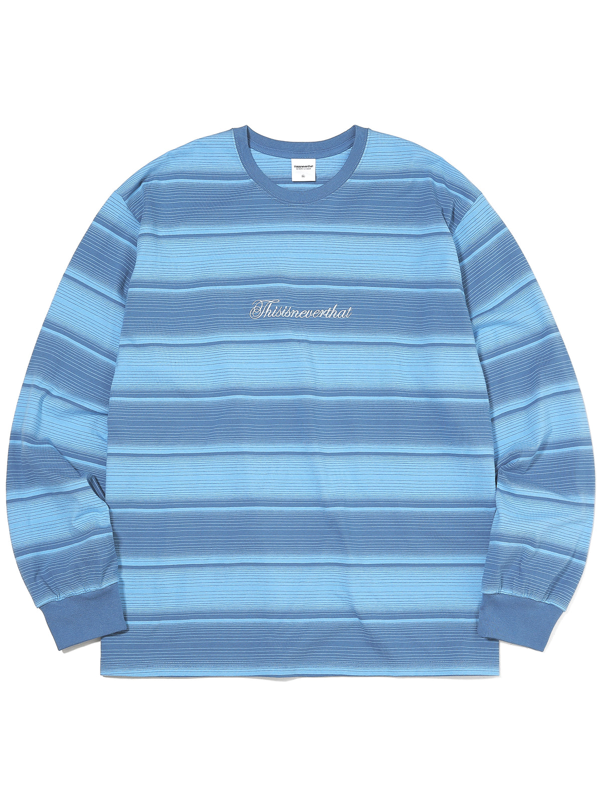 Script Striped L/SL Top - thisisneverthat