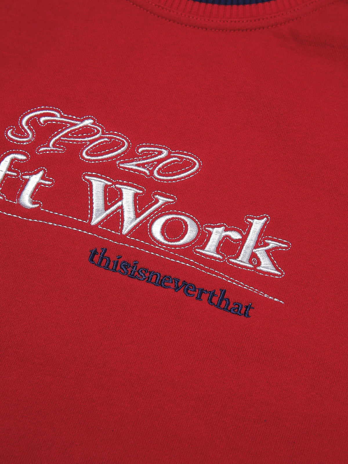 SOFT WORK Crewneck - thisisneverthat