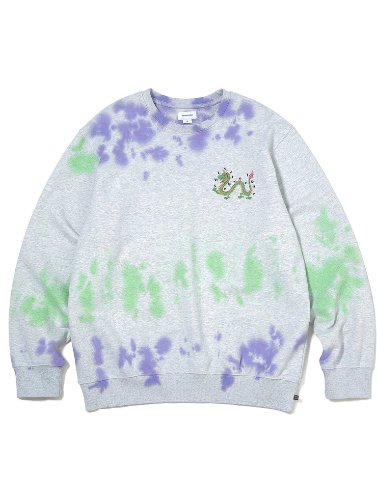 Tiedye DRAGON Crewneck - thisisneverthat