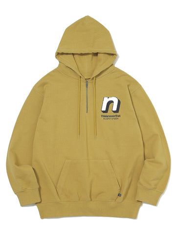 N 1/4Zip Hooded Sweatshirt - thisisneverthat