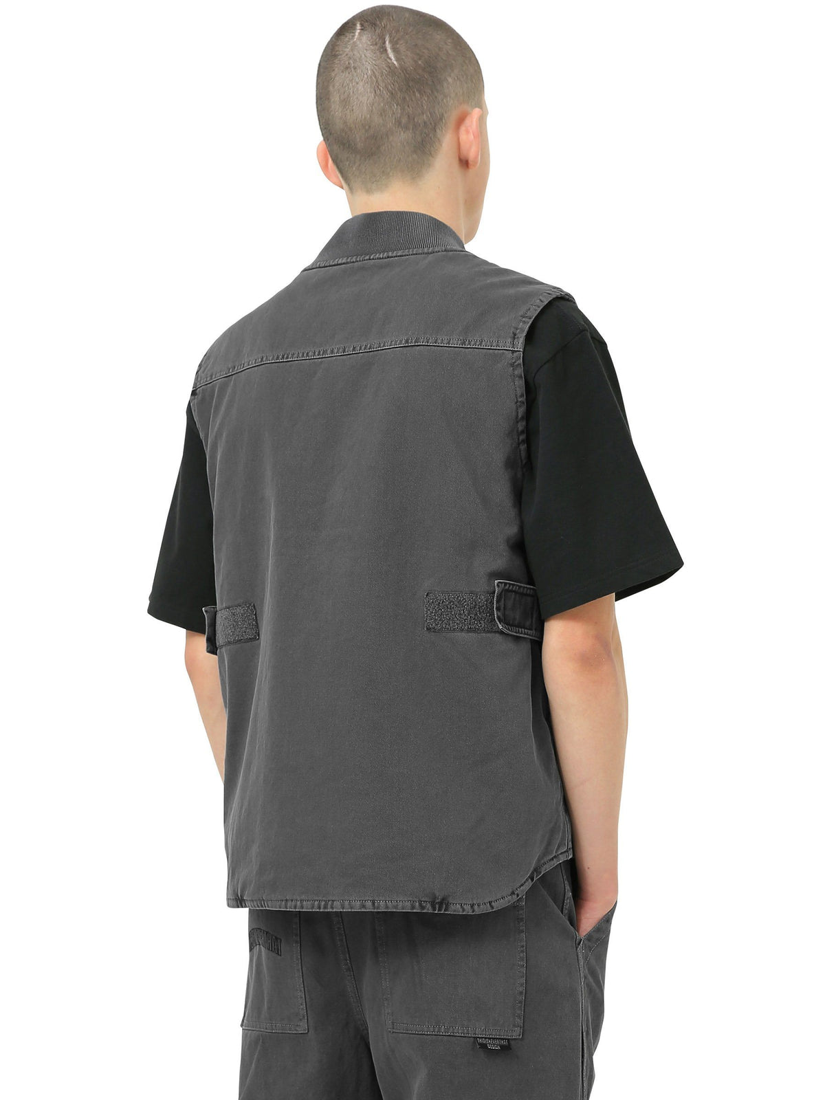 Overdyed Work Vest - thisisneverthat