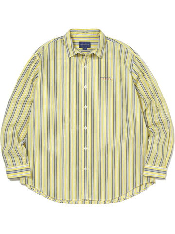 DSN-Logo Striped Shirt Shirts