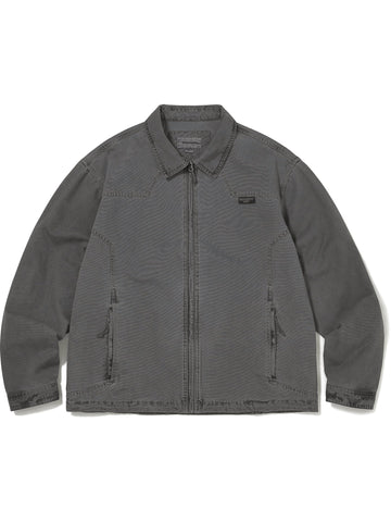 Overdyed Oxford Jacket - thisisneverthat
