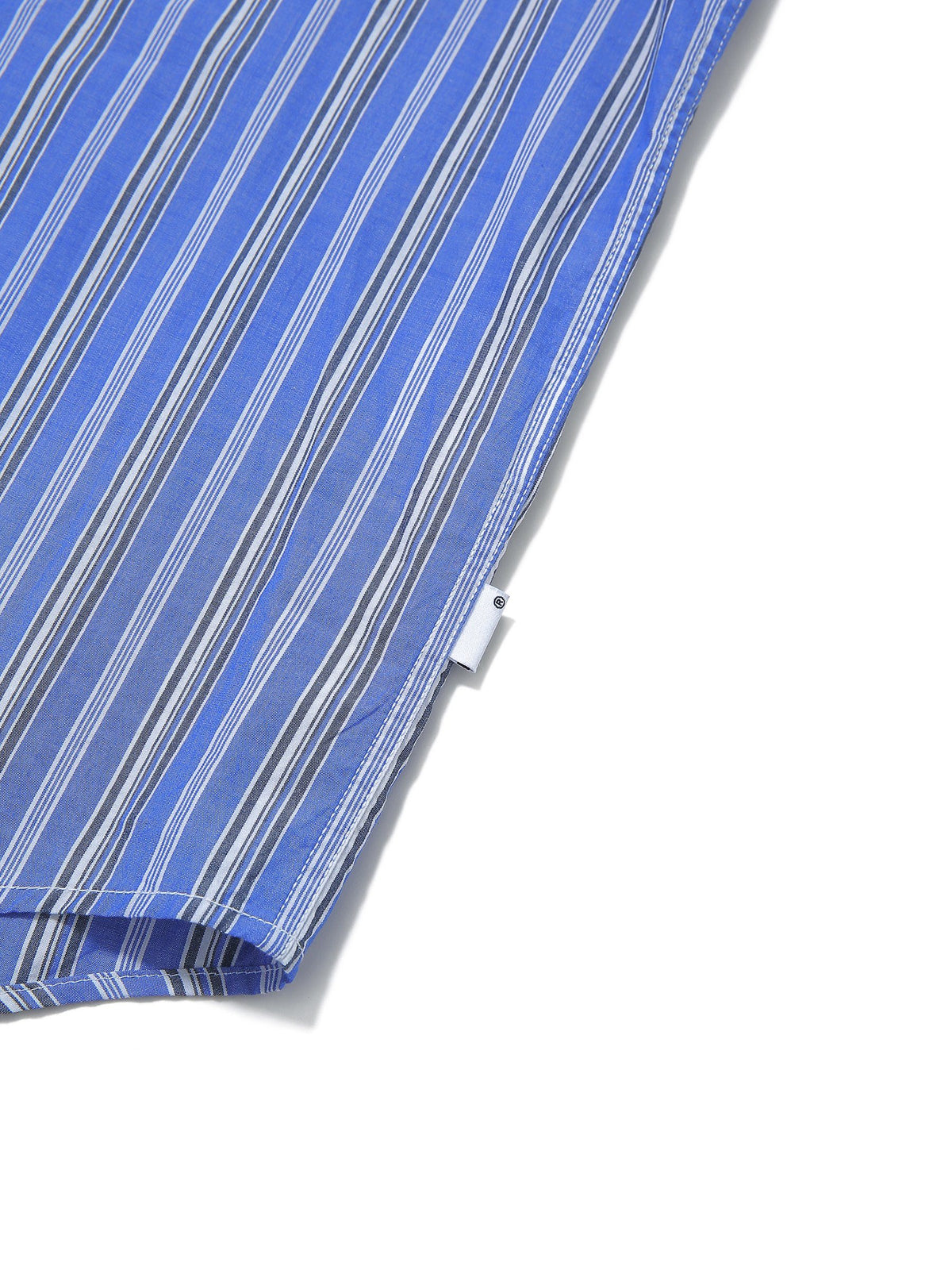 DSN-Logo Striped Shirt - thisisneverthat