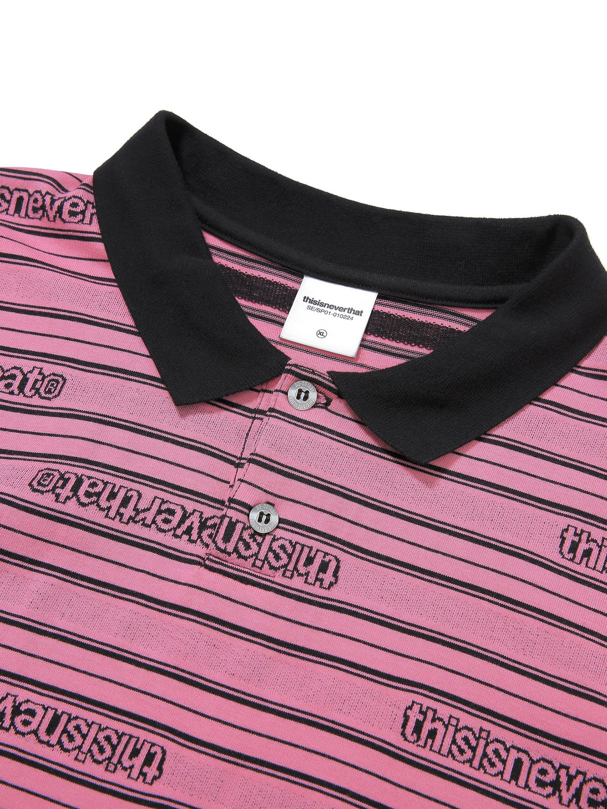 Jacquard L/SL Jersey Polo - thisisneverthat