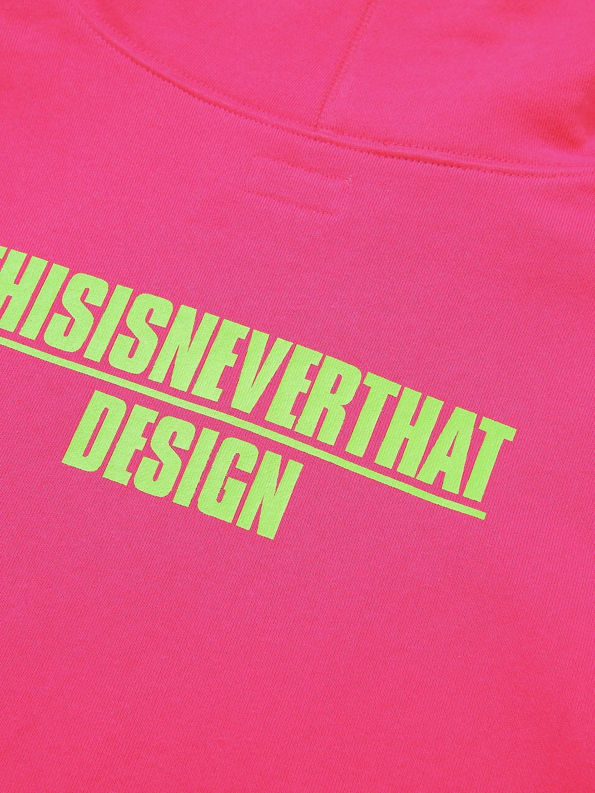 DESIGN Hooded Sweatshirt - thisisneverthat