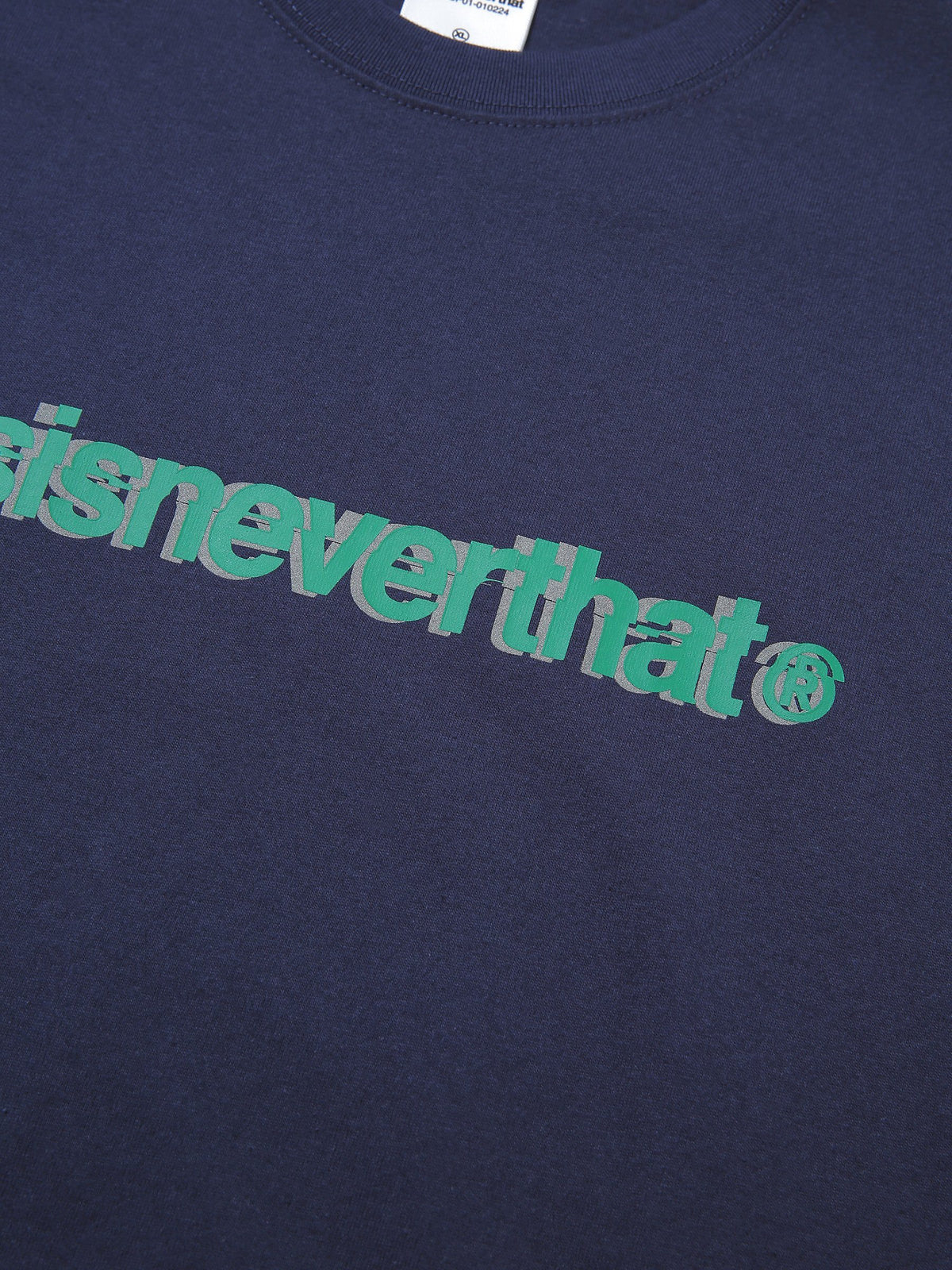 Cracked T-Logo Tee - thisisneverthat
