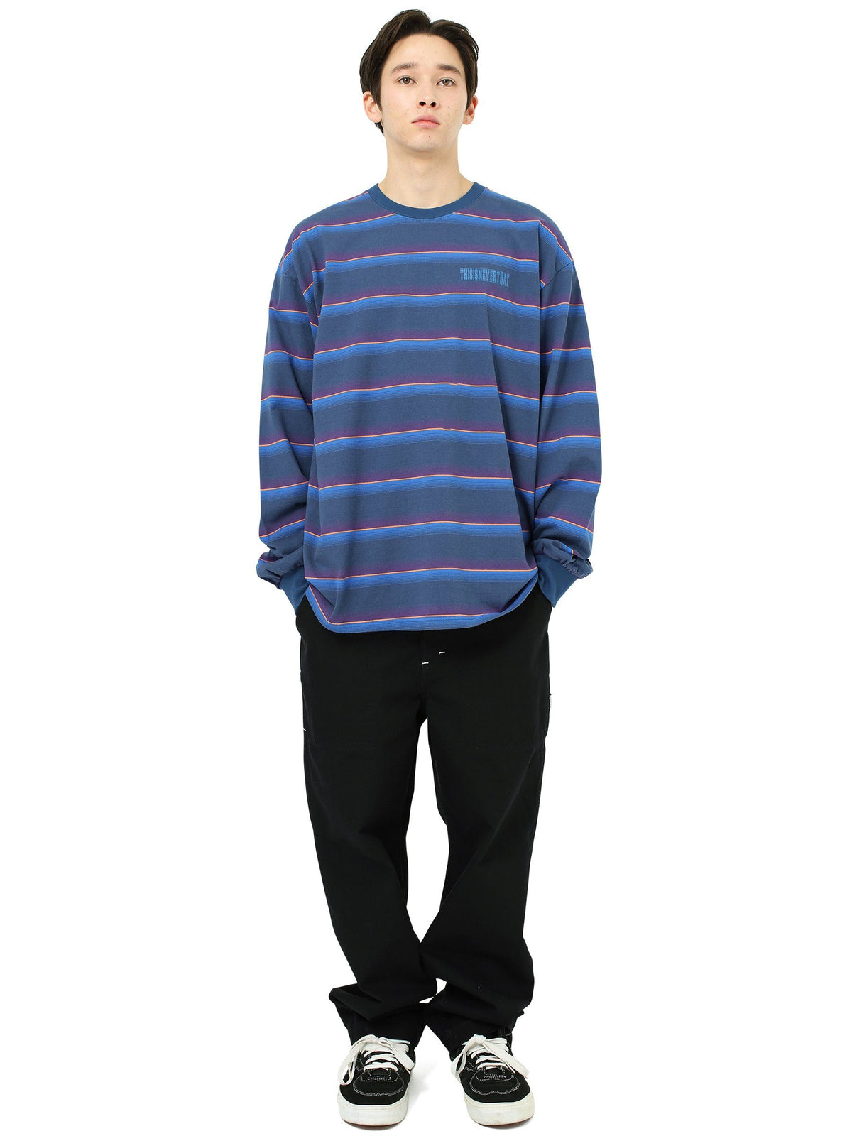 Striped L/SL Top - thisisneverthat