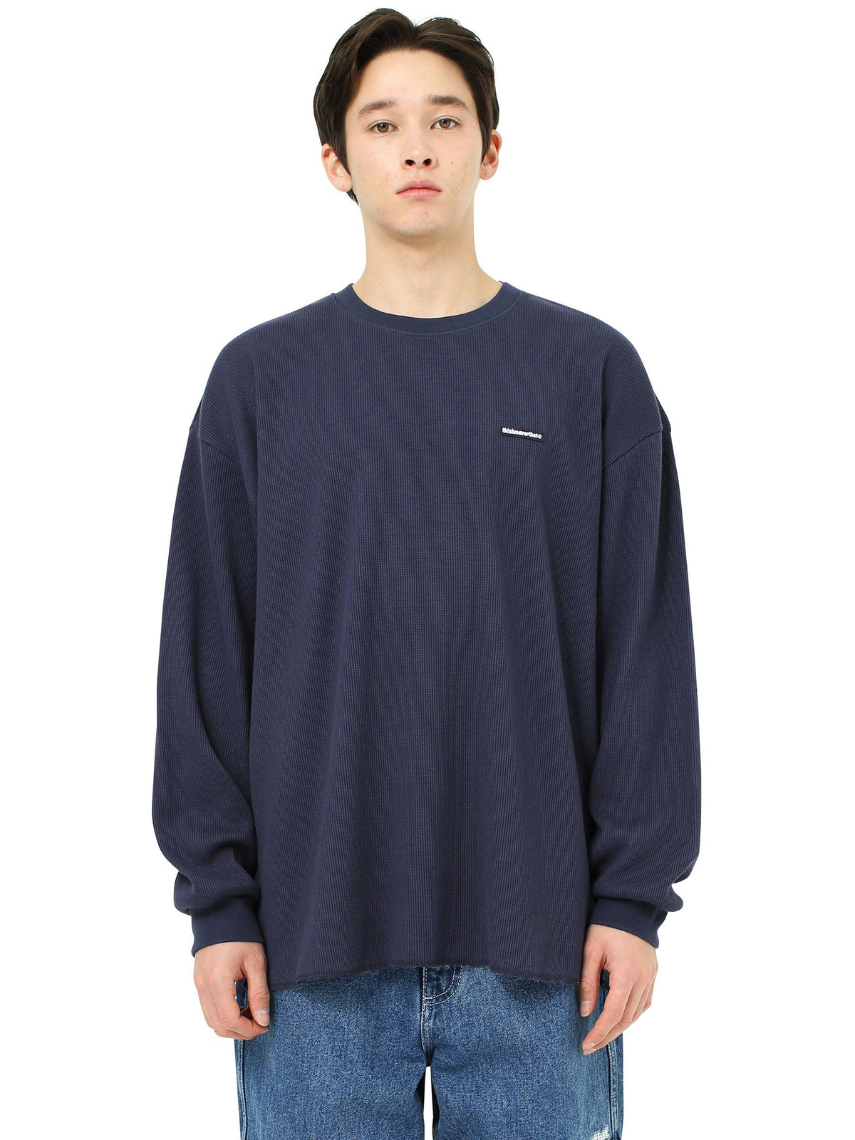 T-Logo Waffle L/SL Top - thisisneverthat