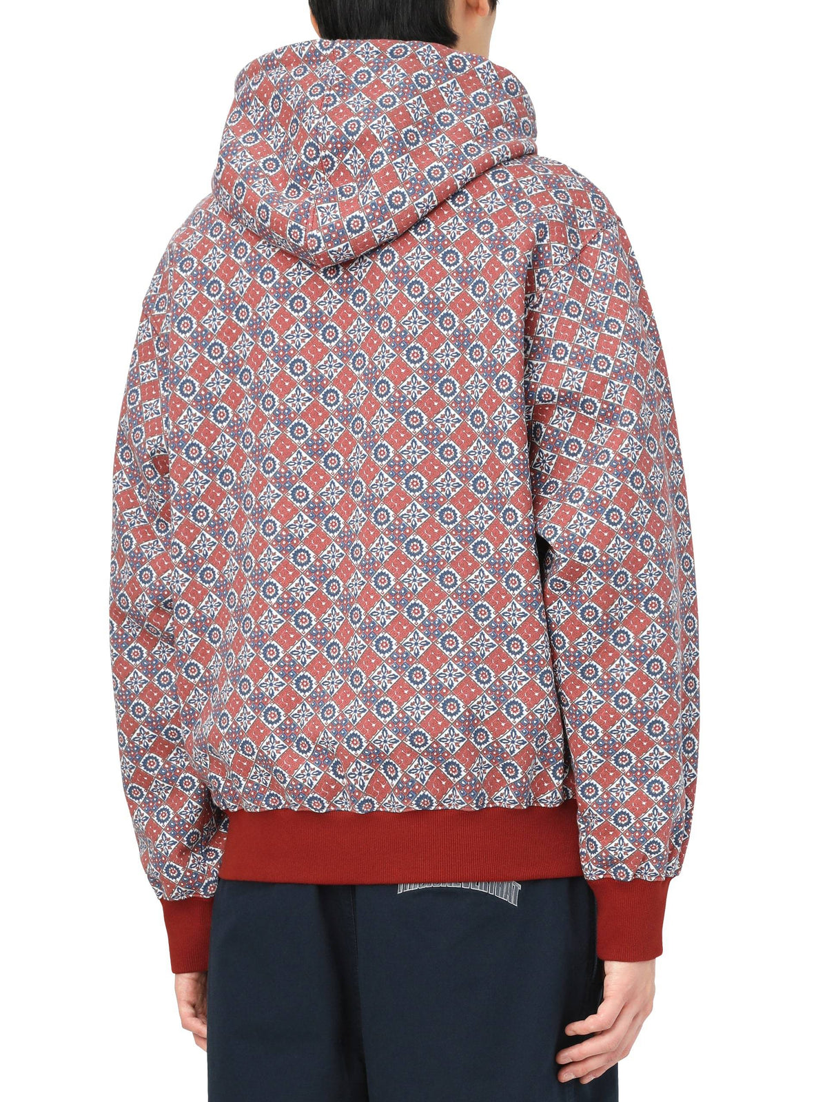 Tile Hooded Sweatshirt Sweatshirts