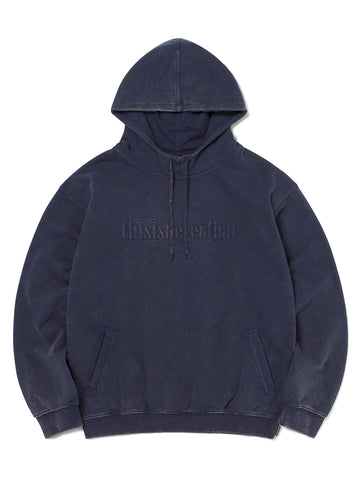 Washed Embroidery Hoodie Sweatshirts