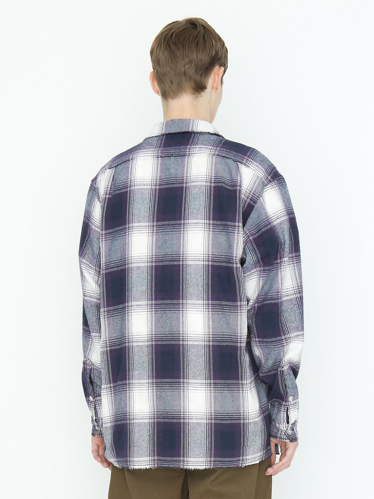 Cut-Off Check Shirt