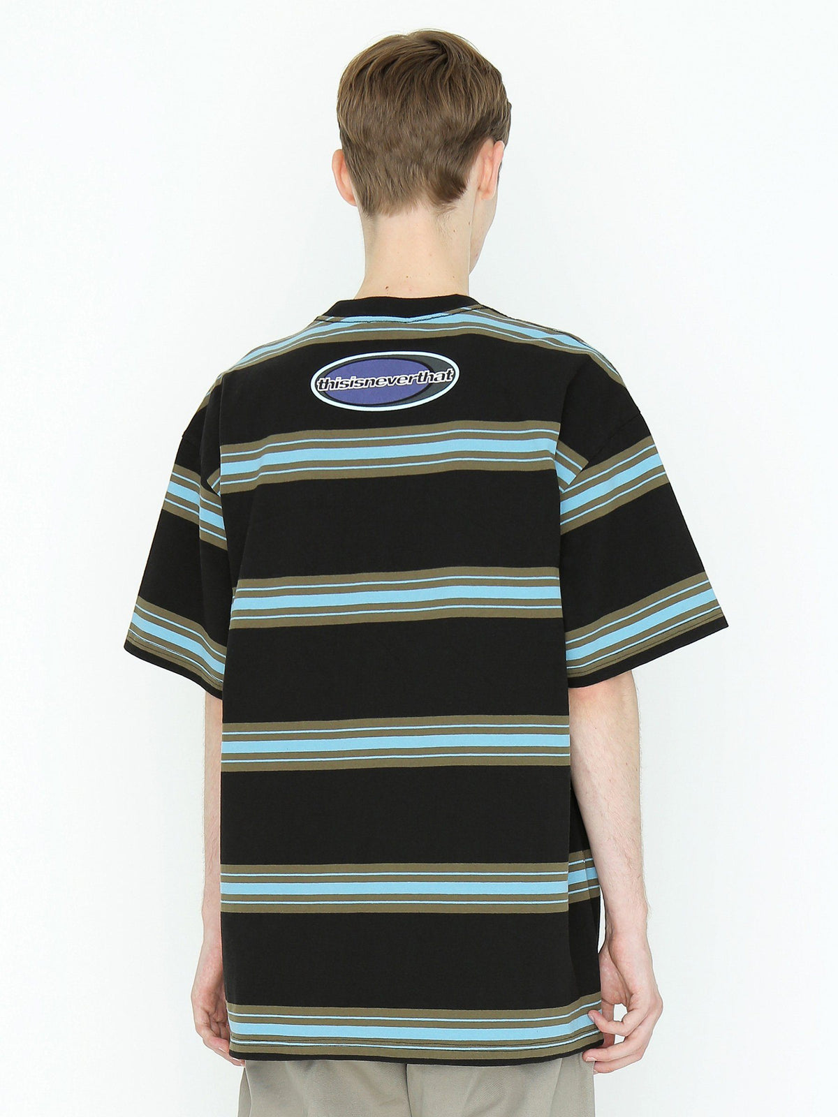 NEW SPORT Striped Tee T-Shirt