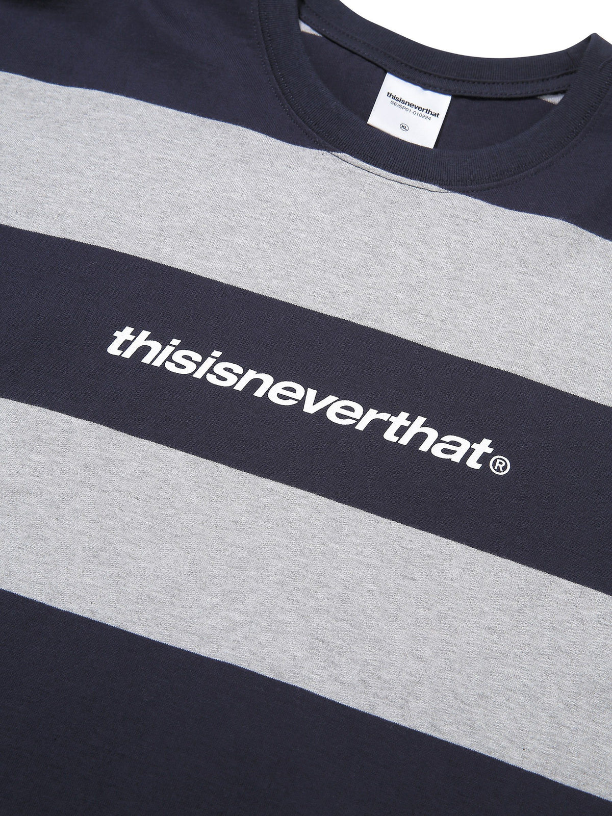 SP-Logo Striped Tee - thisisneverthat