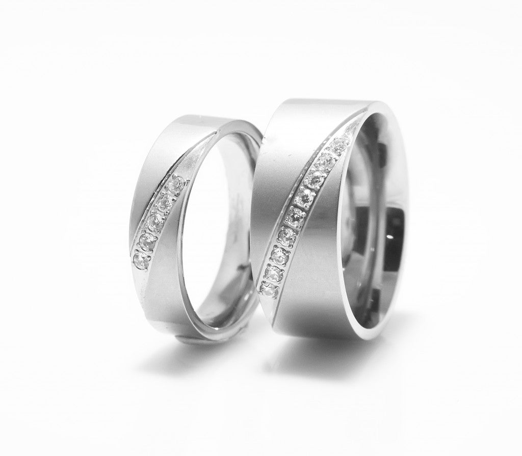 titanium product band wedding rings bevel camo pink ring by