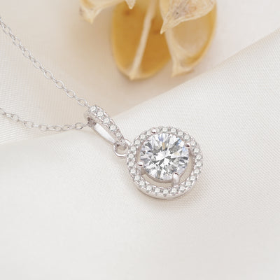 Maggie Necklace with Swarovski