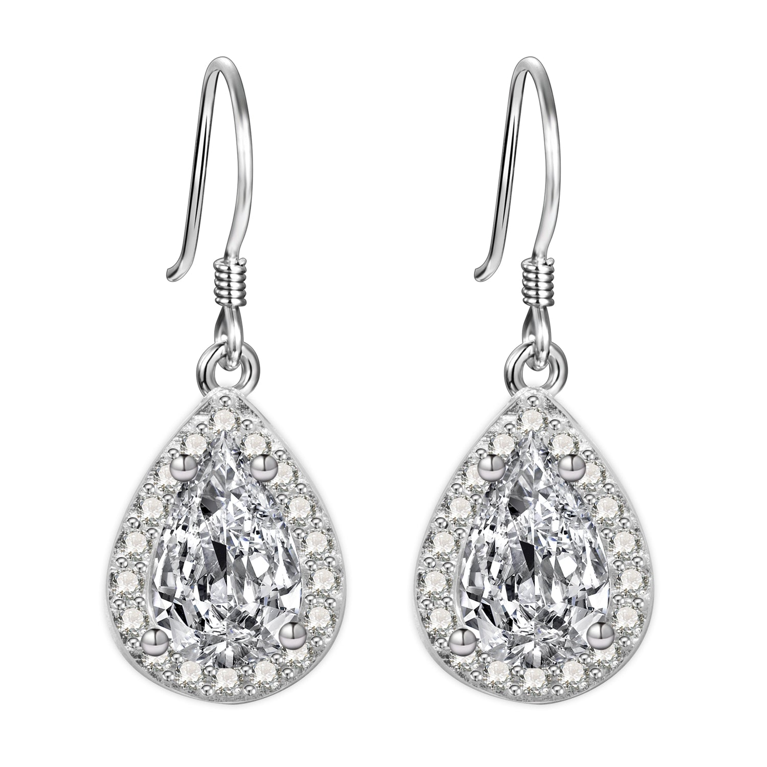 Alanna Sterling Silver Earrings With Swarovski