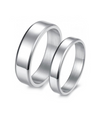 Plain Titanium Wedding Ring