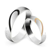 Real Love Titanium Wedding Rings (Men)