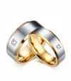Clarke Titanium Wedding Ring