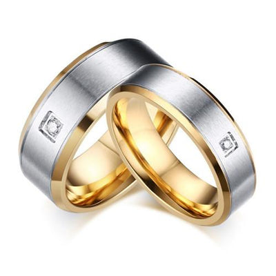 Clarke Titanium Wedding Ring (Men)