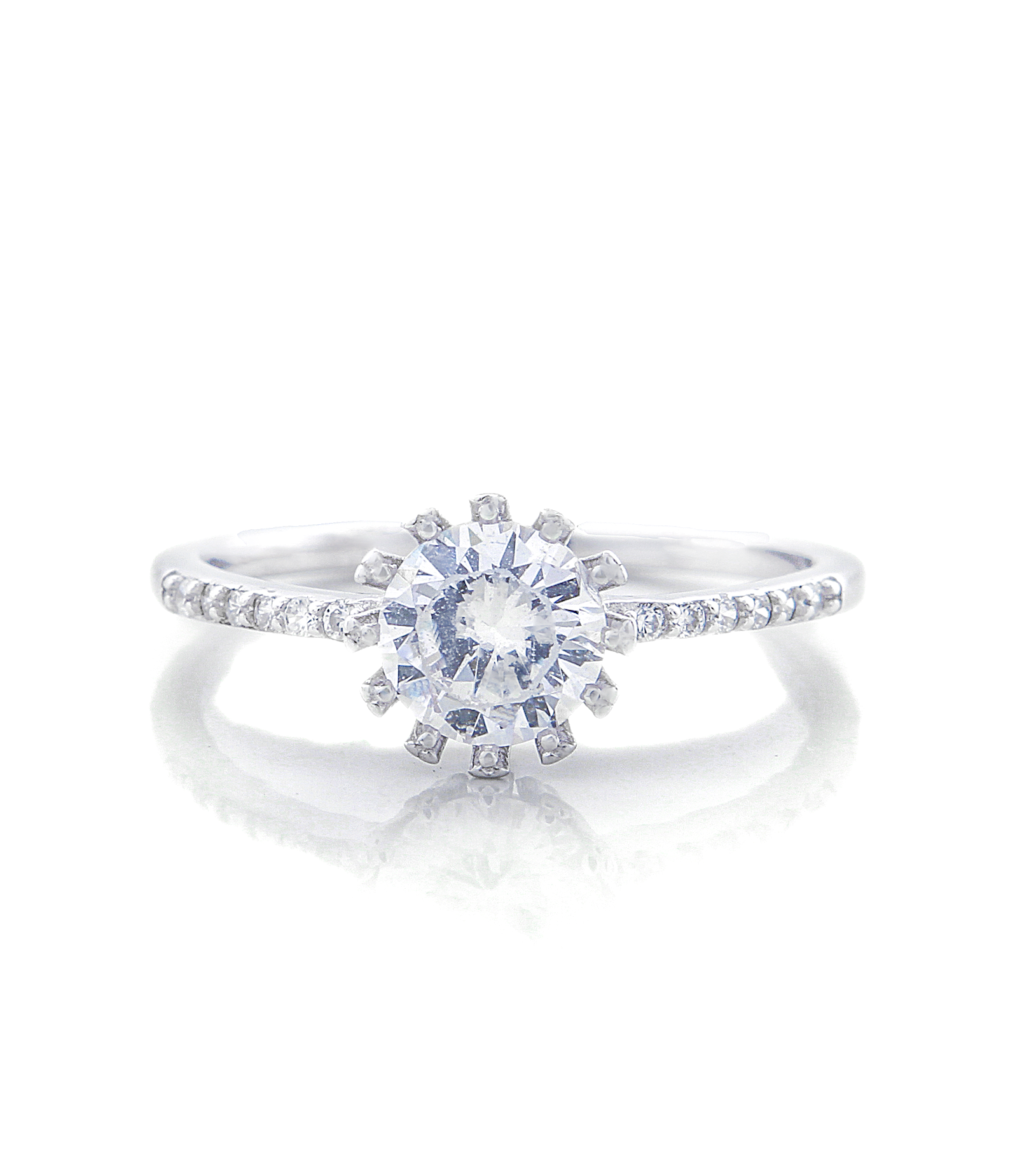 Penelope Engagement Ring with Swarovski