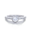 Margaret Engagement Ring with Swarovski