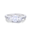 Chloe Engagement Ring with Swarovski