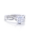 Ashley Promise Ring with Swarovski