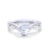 Ashley Engagement Ring with Swarovski
